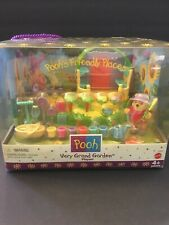 Mattel Pooh's Friendly Places Very Grand Garden Playset 1998 Rare