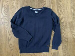 Janie and Jack Boys V Neck Sweater Blue Size 5