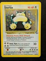 11/64   Snorlax HOLO   Jungle   Pokemon Card   Excellent