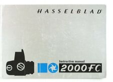 Hasselblad 2000Fc Instruction Manual Original