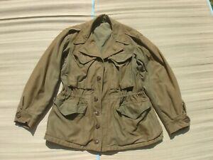 M-1943 Field Jacket 34S - worn in Europe during WW2