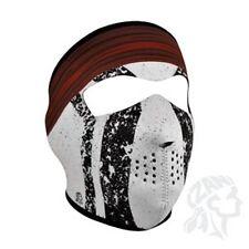 Comanche indian feather crow full neoprene face mask Zan Headgear WNFM084 Biker