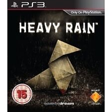 Heavy Rain (Sony PlayStation 3, 2010) With Booklet.