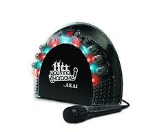 Akai KS201 Portable Karaoke CD+G Player & AM/FM Radio W/LED Light Effects KS-201