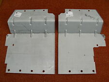 LAND ROVER SERIES 2A / 3 INNER WING MUDSHIELD SPLASH GUARDS - PAIR - NEW