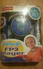 NEW FISHER PRICE - FP3 MP3 PLAYER - KID TOUGH BLUE 128MB BRAND RARE