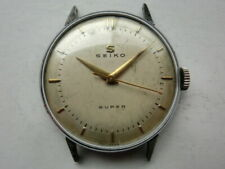 Seiko 1950' Vintage Men's Watch Super Manual Seikosha [No Belt]
