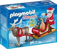 PLAYMOBIL seasonal - 5590 RENNA SLITTA-CHRISTMAS-NUOVO & OVP