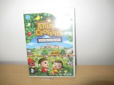 Animal Crossing Let's Go To The City Nintendo Wii Nuevo y Sellado de Fábrica Pal