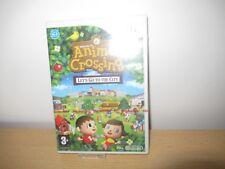 Animal Crossing Let's Go To Own The City Nintendo Wii Neuf et Scellé D'Origine