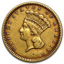 $1 Indian Head Gold Type 3 VF (Random Years) - SKU #104144