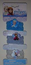 Disney Frozen Elsa & Anna Girls Elastic Hair Ponies Ponytail Holders 6 Count
