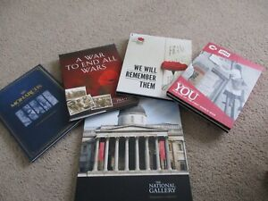 London Mint Collectable Lot of Starter Coins/Ingot/ Poster and Original Folders