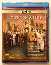 DOWNTON ABBEY: Season 2 PBS - MINT NEW SEALED BLU-RAYS!!