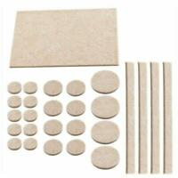 38Pcs Felt Pads Self Adhesive Furniture Floor Protectors Wood Laminate