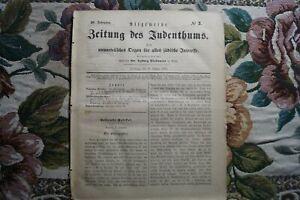 1866 3 Juden in Samuel David Luzzatto Triest R' Issacher Baer Adler Frankfurt