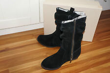 Burberry Stiefel Neu 100% Original schwarz Gr. 33 uvp: 275,00 €BURBERRY