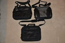 3) LAPTOP BAGS - TARGUS & TOSHIBA - Black & Gray  Excellent Never Used Condition