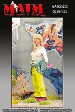 MAIM GRAFFITI PAINTER #3 (GIRL WLADDER) SCALA 1:35 COD.ART.35253