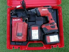 Hilti SD 5000-a22 Dry Lining Gun 22v drill screw gun 3 batteries box and charger