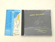 GERRY MULLIGAN - CALIFORNIA CONCERTS VOLUME 1 - CD JAPAN WITH OBI PACIFIC JAZZ