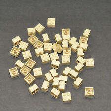 50x Lot of 1x2x2 Lego 1 x 2 x 2 Tan Harry Potter Star Wars Sand Desert Egypt 2x2