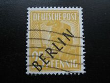 BERLIN GERMANY Mi. #10 scarce used stamp! CV $72.50