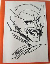 dessin original art sketch WOLVERINE par Pat Lee  ( Marvel comics )