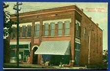 Marion Alabama al Masonic Temple old unposted postcard