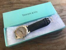 Authentic Tiffany & Co Atlas 925 Sterling Silver 37.5mm Swiss Men's Dress Watch