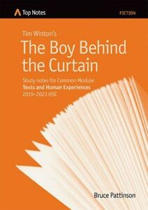 HSC English Top Notes study guide The Boy Behind the Curtain