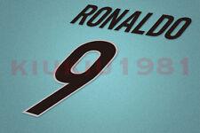 Inter Milan Ronaldo #9 1999-2000 Awaykit Nameset Printing