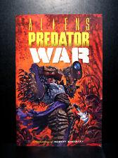 COMICS: Dark Horse: Aliens vs Predator: War tradepaperback (1996, 1st Print)