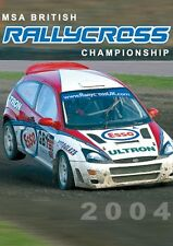 MSA British Rallycross Championship - Official Review 2004 (New DVD) RallyX
