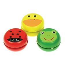 """in legno pulcino/"""" 3 modelli a scelta yo yo per bambini /""""Rana,coccinella"""