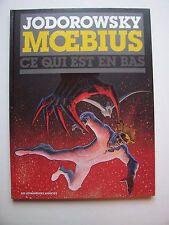 TL : L'INCAL , T3 Ce qui est en Bas , Moebius , 1500 Ex N°, 2013
