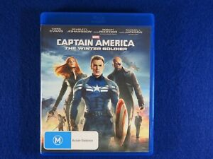 Marvel Captain America The Winter Soldier - Blu Ray - Free Postage !!