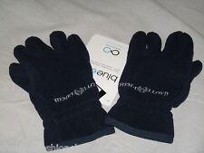BNWT - HENRI LLOYD Eco Fleece Gloves  Navy Blue  Small
