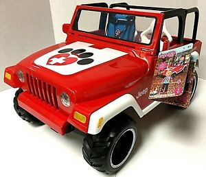 """New My Life As Animal Rescue Red Remote Control Jeep For 18"""" Doll"""