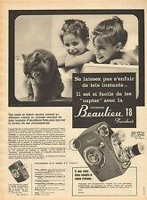 Publicité  //   Camera Beaulieu T8 President  ....