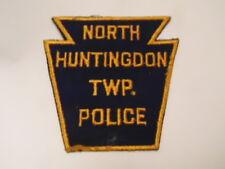 PATCH POLICE USA : NORTH HUNTINGDON TWP. POLICE PATCH