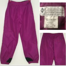 Columbia Snow Pants Womens Size L Waterproof Winter Ski Pink Snowboard Outdoor