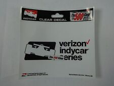 New Verizon IndyCar Series Collector Decal IRL Official Souvenir Product