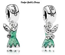 Pandora Disney Love Tinker Bell's Dress Charm Bead, Original, New, #792138EN93