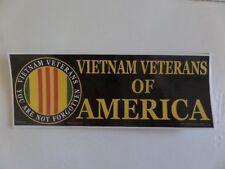 "Vietnam Veterans Of America, ""You Are Not Forgotten"" Laminated Bumper Sticker"