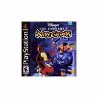 Disney The Emperor's New Groove For PlayStation 1 PS1 Brand New 8E