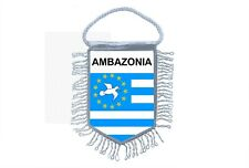 Mini banner flag pennant window mirror cars country banner cameroon AMBAZONIA
