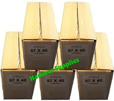 100 ROTOLI - 57x40 Thermal Chip & PIN 57 X 40 TH 57mmx40mm 57 mm x 40 mm th57-17
