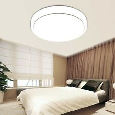 18W Round LED Ceiling Light Flush Mount Home Fixture Bedroom Lamp Energy Saving