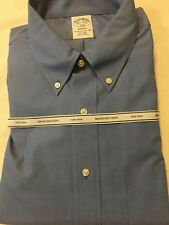 BROOKS BROTHERS 1818 REGENT MEN'S THE ORIGINAL POLO  SHIRT SIZE 16,5 - 4/5